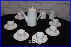 NORITAKE Japan 6842 Fine China Casablanca Mini Coffee/Tea Set
