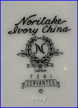 NORITAKE Japan China CERVANTES 7261pattern 69 Piece Set