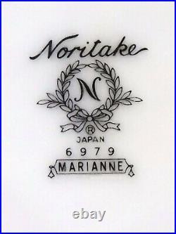 NORITAKE Japan china MARIANNE 6979 pattern 6-piece HOSTESS Serving Piece SET