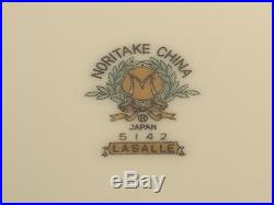 NORITAKE LASALLE CHINA #5142 FOUR 5 pc. PLACE SETTINGS 1950's 20 pcs