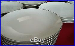 NORITAKE LORELEI IVORY CHINA 7541 SET of 70 JAPAN CUPS DINNER PLATES PLATTER ETC