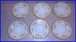NORITAKE LOTUS PATTERN 45 PC Dishes China Plates Set FREE US SHIPPING