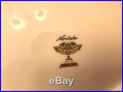 NORITAKE MERIDA ROSE FLORAL CHINA SERVICE FOR 8 61 Piece set Japan 515