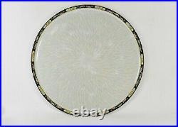 NORITAKE MORIMURA Demitasse Set & Tray, Creamer, Sugar Bowl Iridescent China