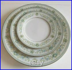 NORITAKE SPRING MEADOW FINE BONE CHINA TEA & DINNER SET for 6GREENIMMACULATE
