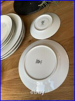 NORITAKE VIRTUE LOT OF 4 PLACE SETTINGS Plus 4 Extra Pieces