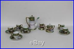 NORITAKE Vintage 15-Piece Porcelain China Tea Coffee Complete Set Made In Japan