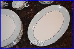 NORITAKE Vintage LAUREATE 5651 41-Piece China SET SERVICE for 8