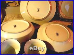 NORITAKE Vtg China Set 43 Piece PRINCETON 6911 Pattern Service for 8 EUC Gift