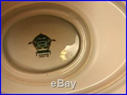 NORITAKE WINTON CHINA VINTAGE 1930S 12-PLACE SETTING (NEARLY) WithSERVING PIECES