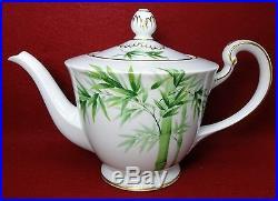 NORITAKE china 1538G BAMBOO 23-piece Tea Dessert Set Teapot salad sugar creamer
