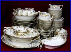 NORITAKE china 16034 175 CHRISTMAS BALL pattern 79-piece SET SERVICE for 12