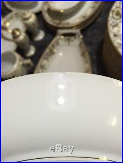 NORITAKE-china-175-CHRISTMAS-BALL-pattern-99-piece-SET