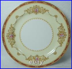 NORITAKE china 1802 Nippon Toki Kaisha 32pc Dessert Set cup/salad/bread/fruit