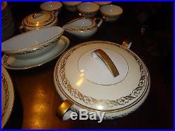 NORITAKE china 5181 pattern 50-pc SET