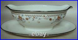 NORITAKE china ADAGIO 7237 pattern 66-piece SET SERVICE for 12 Serving Pieces