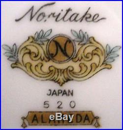 NORITAKE china ALAMEDA 520 pattern 82 pc Set Service for 10 plus Serving