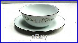 NORITAKE china ANNABELLE 6856 pattern 125-piece SET SERVICE for 12 or more