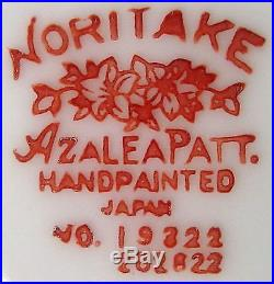 NORITAKE china AZALEA 19322 red stamp 100+ SET including 14 serving pieces