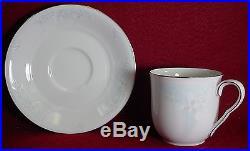 NORITAKE china BAMBURY 3369 pattern 58-pc SET SERVICE for 12