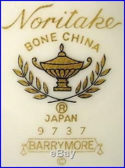 NORITAKE china BARRYMORE 60-piece SET SERVICE for Twelve (12)