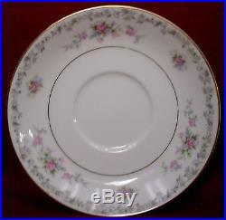 NORITAKE china BARTON 6305 pattern 83-piece SET SERVICE for TWELVE (12)