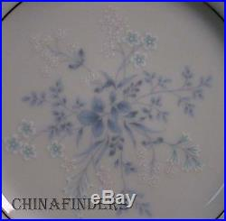 NORITAKE china CAROLYN 2693 pattern 69 piece SET SERVICE including SERVING