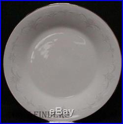 NORITAKE china CASABLANCA 6842 pttrn 84pc Set cup/dinner/salad/bread/fruit/soup
