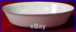 NORITAKE china CASABLANCA 6842 pttrn 8pc Hostess Set creamer/sugar/gravy/platter