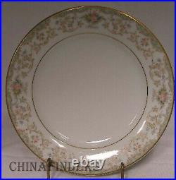 NORITAKE china CROYDON 5908 pattern 61pc Set cup/dinner/salad/bread/fruit/saucer