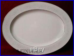 NORITAKE china CUMBERLAND pattern 65-piece SET SERVICE for 12 + 4 Serving Pieces