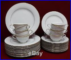 NORITAKE china DAWN 5930 pattern 30-piece SET SERVICE for 10 cup dinner salad