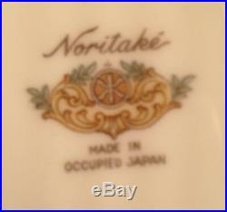 NORITAKE china DRESALA 3033 pattern 45 piece set