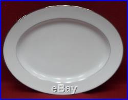 NORITAKE china ENVOY 6325 pattern 43 piece Set dinner/salad/cup/platter/bread