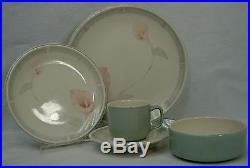 NORITAKE china ETERNAL BLUSH 9138 pattern 57-piece SET SERVICE for Twelve (12)