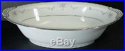 NORITAKE china FAIRMONT 6102 10pc Hostess Set creamer/sugar/serving/platter