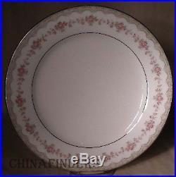 NORITAKE china GLENWOOD 5770 pattern 68pc Set dinner/salad/bread/cup/fruit