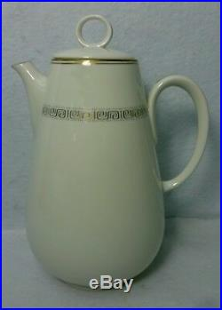 NORITAKE china GLORIANNA 7526 pttn 29-piece COFFEE, TEA or DESSERT SET with Pot