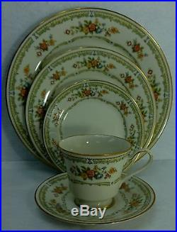 NORITAKE china HOMAGE 7236 pattern 90-piece SET SERVICE for 12 with 5 Serving Pcs