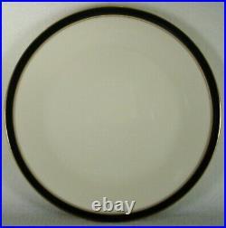 NORITAKE china IVORY & EBONY 7274 pattern 60-piece SET Service for 12