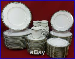NORITAKE china LANDON 4111 pattern 60-piece SET SERVICE for TWELVE (12)