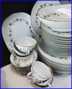 NORITAKE china LEXINGTON Ivy 6435 pattern 75-piece SET SERVICE for Twelve (12)