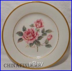 NORITAKE china LINDROSE 5234 pattern 72 pc Set cup/dinner/salad/bread/fruit