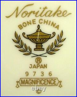 NORITAKE china MAGNIFICENCE 9736 pattern 20-piece SET SERVICE for 4