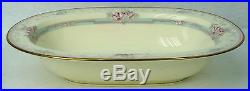 NORITAKE china MAGNIFICENCE 9736 pattern OVAL VEGETABLE serving BOWL Set of TWO