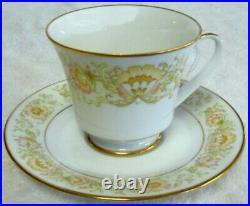 NORITAKE china MAY GARDEN 2355 pattern 60 piece SET SERVICE for 12