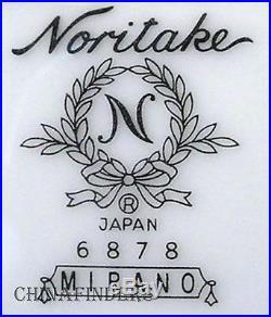 NORITAKE china MIRANO 6878 pattern 60-piece SET SERVICE for 12 Place Settings