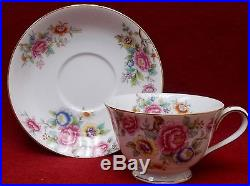 NORITAKE china N26 pattern 60 piece Set cup/dinner/salad/bread/fruit/soup