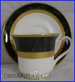 NORITAKE china OPULENCE 9799 pattern 60-piece SET SERVICE for 12 place settings