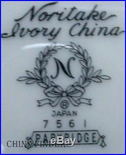 NORITAKE china PARKRIDGE 7561 pattern 60 Piece Set Service for 12